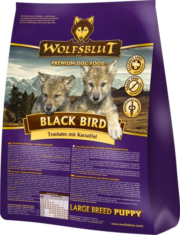 Black Bird Puppy Large Breed 15kg