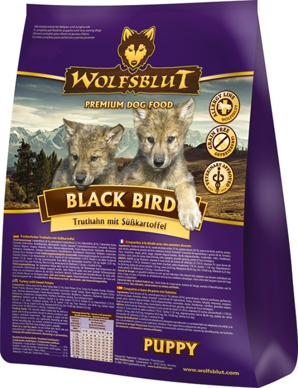 Black Bird Puppy 2kg