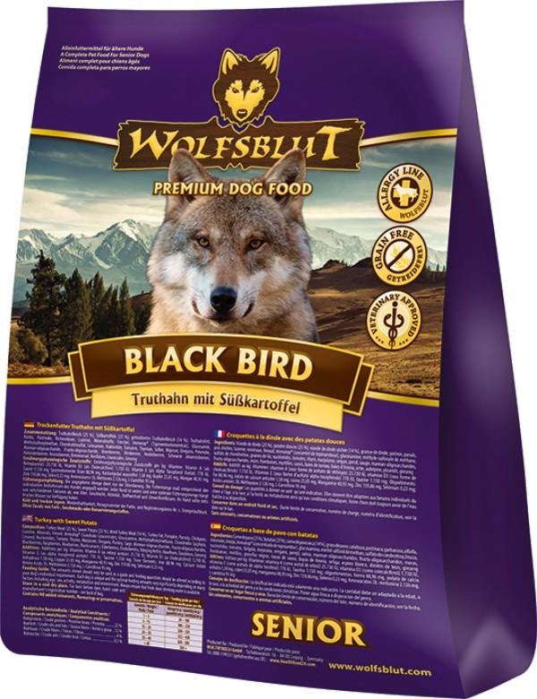 Wolfsblut Black Bird 500g Senior