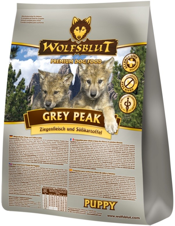 Wolfsblut Grey Peak Puppy 2kg