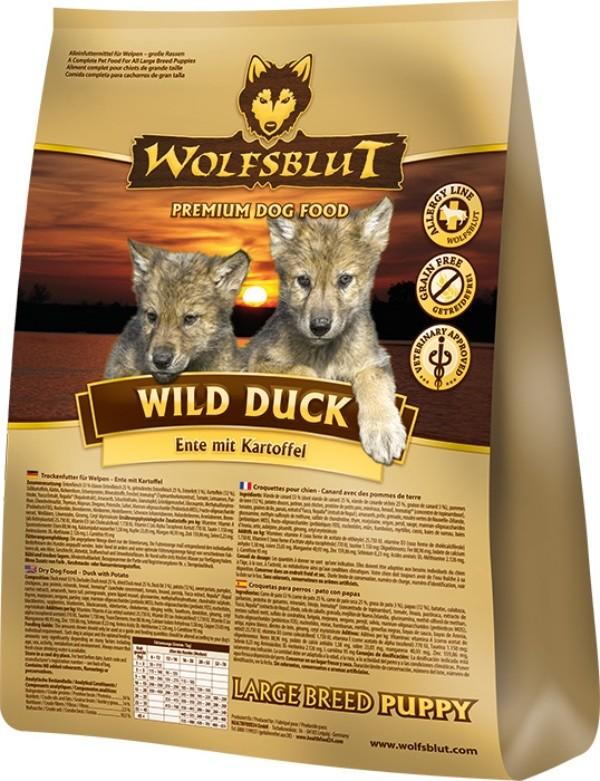 Wild Duck Puppy Large Breed 2kg