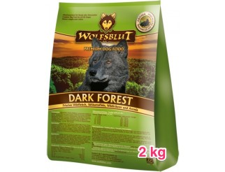 Wolfsblut Dark Forest 2kg Aduld für Allergiker