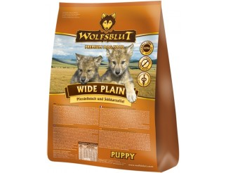 Wide Plain Puppy 500g