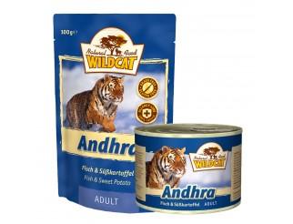 Wildcat Andhra mit Fisch und Süsskartoffel Pouch