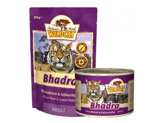 Wildcat Bhadra mit Pferdefleisch und Süsskartoffel Pouch