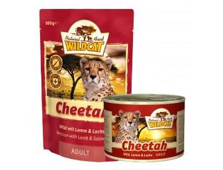 Wildcat Cheetah mit Wild, Lamm und Lachs Pouch