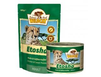Wildcat Etosha mit Huhn und Süsskartoffel Pouch