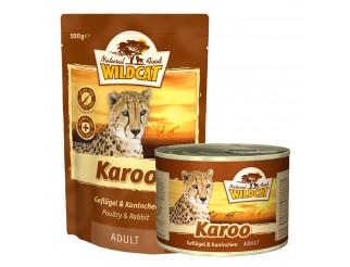 Wildcat Karoo Adult mit Geflügel und Kaninchen Pouch