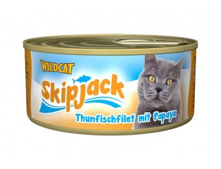 Skipjack - Thunfisch -  Papaya